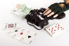 Free Strip Poker Concept Stock Photos - 26080973