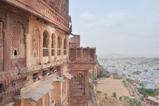 Free A View Of Mehrangarh Fort Royalty Free Stock Photography - 26084657