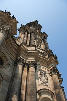 Free Gothic Belfry In Dresden Stock Photo - 26086370