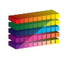Free Set Of Vibrant Glossy 3D Cubes. . Stock Photography - 26088412