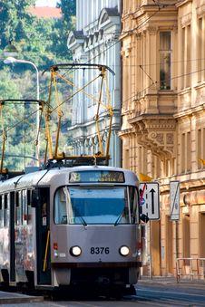 Free Prague Tram Stock Photos - 26088833