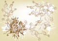 Free Beautiful Vintage Hand Drawn Vector Card Royalty Free Stock Photography - 26094207