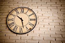 Free Roman Numeric Clock Royalty Free Stock Photo - 26090415