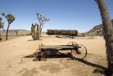 Free Charred Railroad Car Stock Photo - 26091160