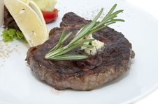 Free Beef Steak Royalty Free Stock Photo - 26091325