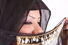 Free Beautiful Bedouin Woman Stock Images - 26091844
