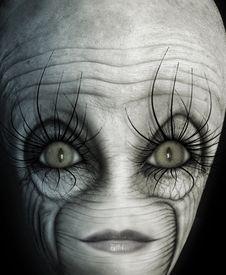 Free Alien Face Stock Photo - 26092020
