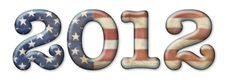 Free 2012 Stars And Stripes Stock Photography - 26092182