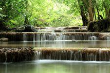 Free Erawan Waterfall Stock Image - 26092851