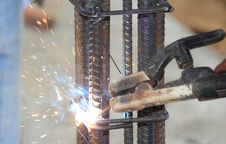 Welding Metal Royalty Free Stock Photos