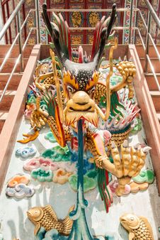 Free Dragon Sculpture Royalty Free Stock Image - 26093616