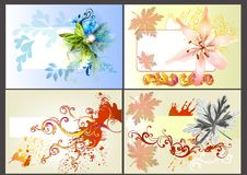 Free Flower Vector Design Elements Royalty Free Stock Image - 26094596