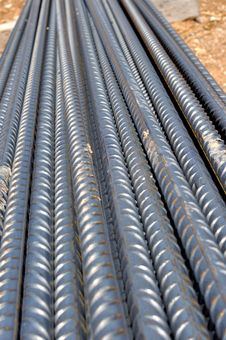 Free Steel Bars For Reinforced Concrete Structures Stock Image - 26095181