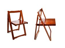 Free Wooden Chair Royalty Free Stock Photo - 26098625