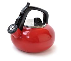 Free Red Water Pitcher Stock Photography - 26098832