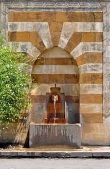 Old Water Pedestal Royalty Free Stock Image