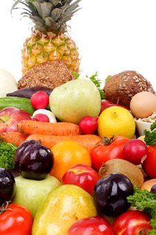 Free Diference Fruits Royalty Free Stock Image - 2610936