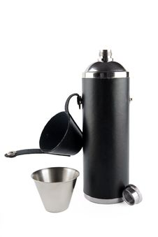Free Opened Flask Witn Beaker Royalty Free Stock Image - 2612006