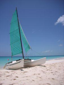 Free Caribbean Sailing Royalty Free Stock Photos - 2612088