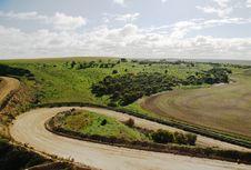 Free Winding Landscape Royalty Free Stock Image - 2612596