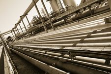 Free Pipelines In Brown Toning Royalty Free Stock Photo - 2612705