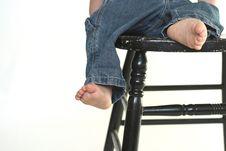Free Toddler Legs Royalty Free Stock Photo - 2613675