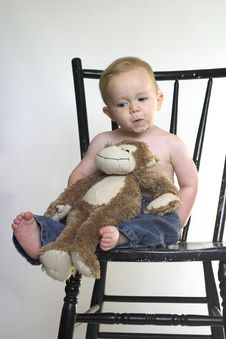 Free Monkey Boy Royalty Free Stock Photography - 2613797