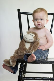 Free Monkey Boy Royalty Free Stock Images - 2613809