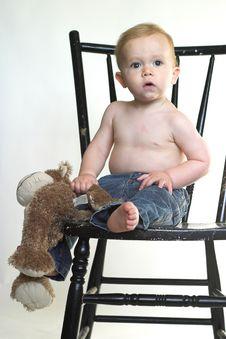 Free Monkey Boy Royalty Free Stock Photo - 2613855