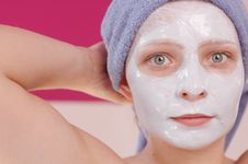 Free Beauty Mask Royalty Free Stock Photo - 2613905