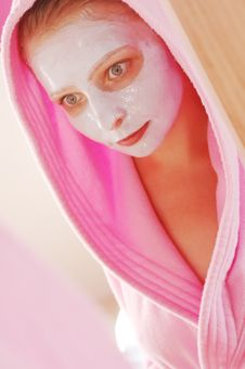 Free Beauty Mask Royalty Free Stock Image - 2613936