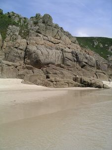 Free Porthcurno, Cornwall Royalty Free Stock Images - 2614409