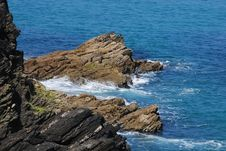 Free Rocks In The Sea Stock Photo - 2614890