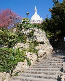Free Sacre Coeur Royalty Free Stock Images - 2615469