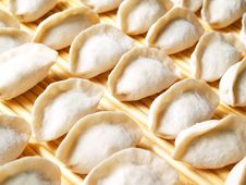 Free Dumplings Ready To Cook Stock Photo - 2615490