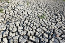 Free Cracked Dried Ground Royalty Free Stock Photos - 2615508