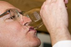 Free Last Drop Of Wine Stock Photo - 2615690