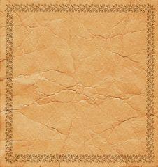 Free Framework On A Sheet 3 Royalty Free Stock Image - 2616026