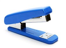Free Blue Stapler Royalty Free Stock Images - 2616529