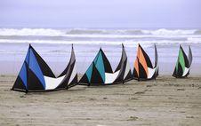 Free Kites On The Beach Royalty Free Stock Photography - 2617247