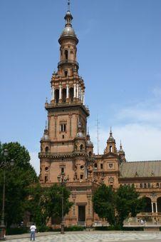 Plaza De Espana (Seville) Stock Images