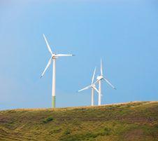 Free Wind Generators Stock Photography - 2617512