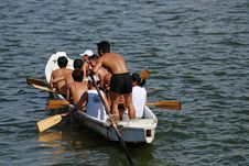 Free People Practicing Rowing Stock Photos - 2617713