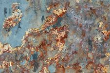 Free Rusty Old Metal Texture Stock Photo - 2618260