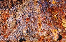 Free Rusty Old Metal Texture Royalty Free Stock Image - 2618326