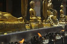 Free Buddha Statues In Thailand Royalty Free Stock Image - 2618766