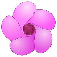 Free Purple Flower Royalty Free Stock Image - 2618866