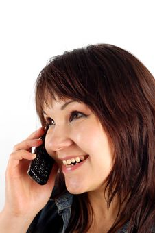 Free Phone Woman 12 Royalty Free Stock Images - 2619349