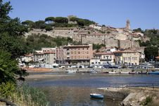 Ancient Italian Village Royalty Free Stock Images