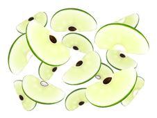 Apple Cascade Royalty Free Stock Photo